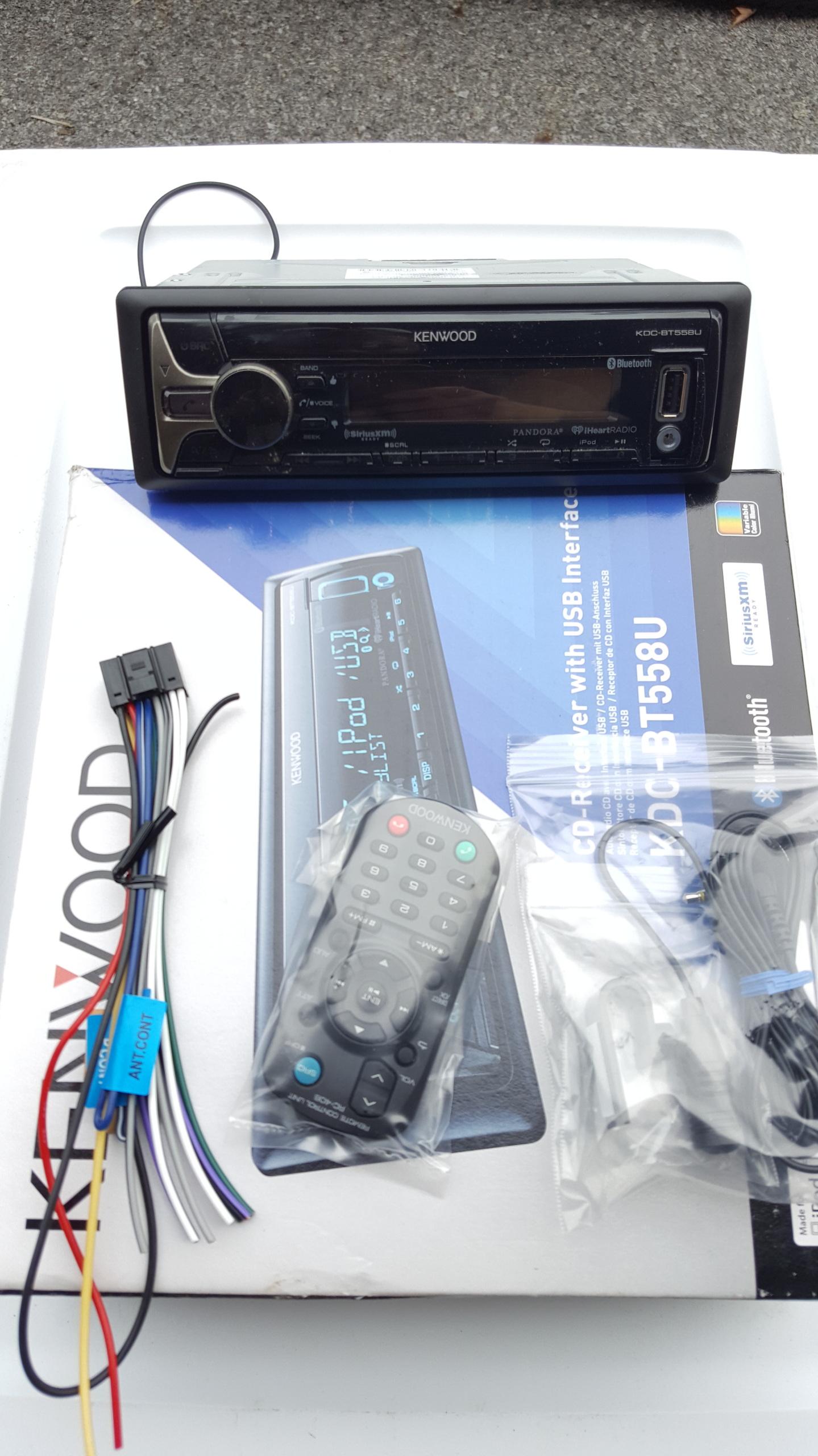 Kenwood Car Stereo Wiring Harness Diagram Kdc Bt558u ... on